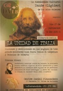 Locandina conferenza Dante